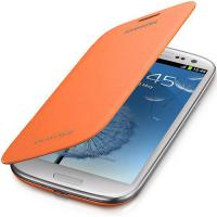 GENUINE SAMSUNG GALAXY S3 COVER FLIP HARD CASE SHELL BATTERY BACK FITS I9300